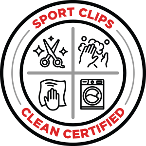 Sport Clips Clean Certified logo